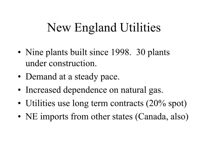 New England Utilities