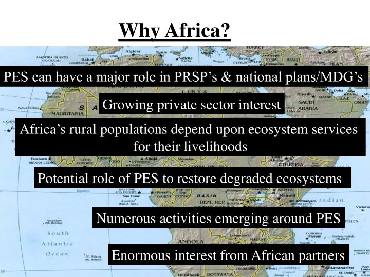 Why Africa?