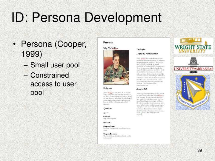 ID: Persona Development