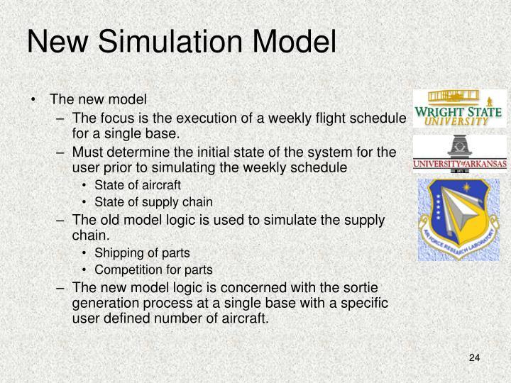 New Simulation Model