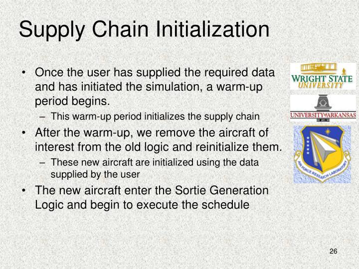 Supply Chain Initialization