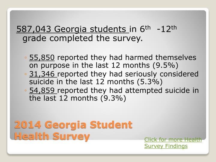 587,043 Georgia students