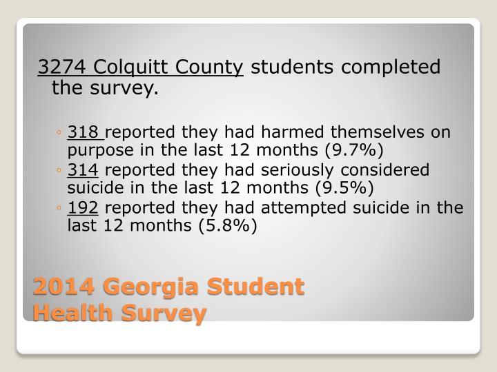 3274 Colquitt County
