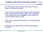problems with the procurement system1
