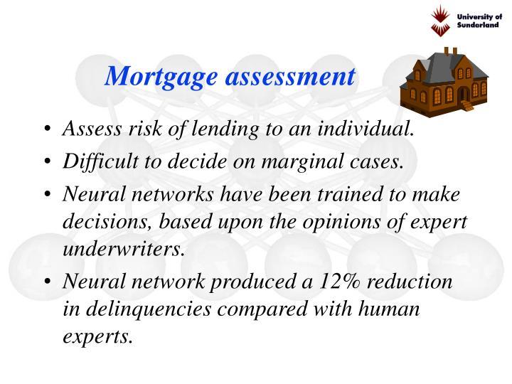 Mortgage assessment