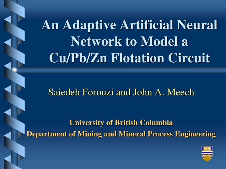 An Adaptive Artificial Neural Network to Model a