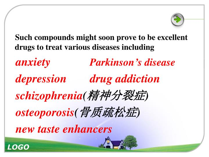 Such compounds might soon prove to be excellent drugs to treat various diseases including