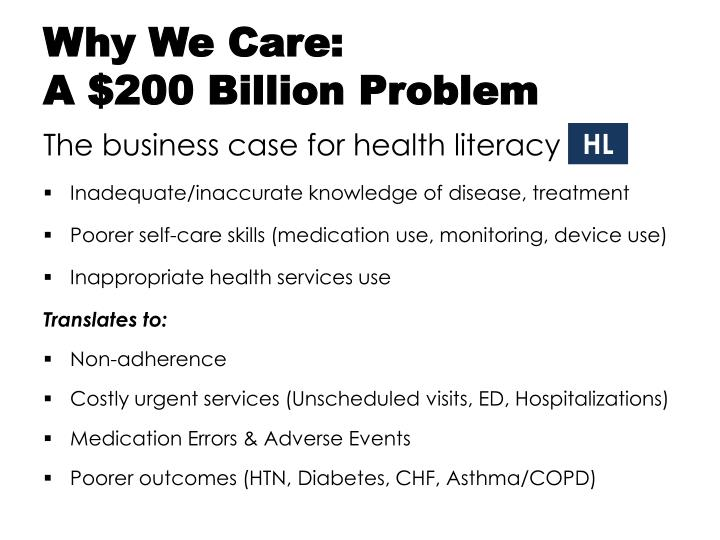 Why We Care:
