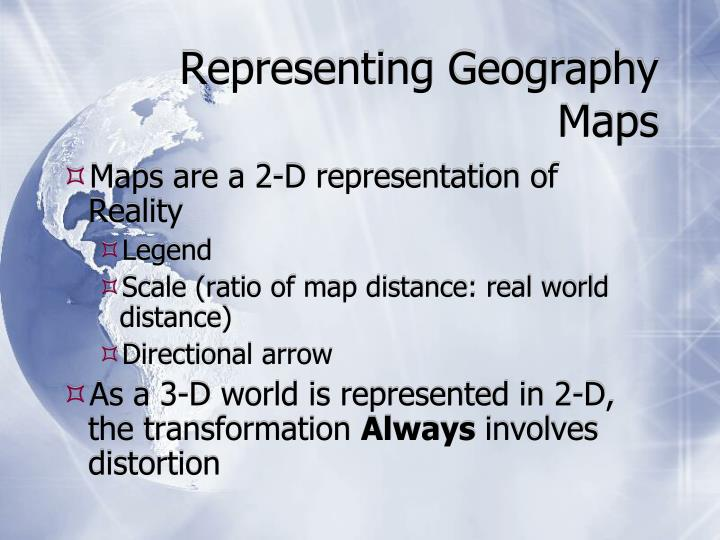 Representing Geography