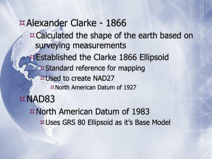 Alexander Clarke - 1866