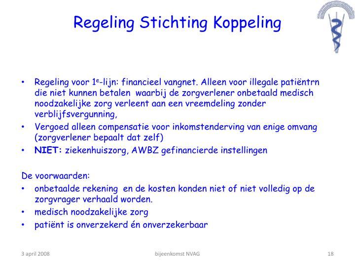 Regeling Stichting Koppeling