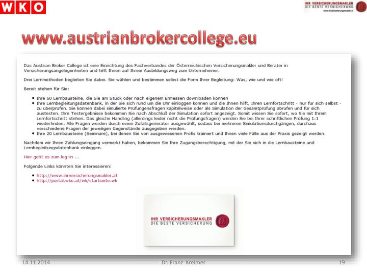 www.austrianbrokercollege.eu