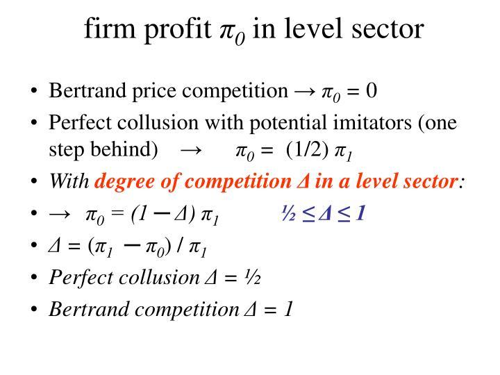 firm profit