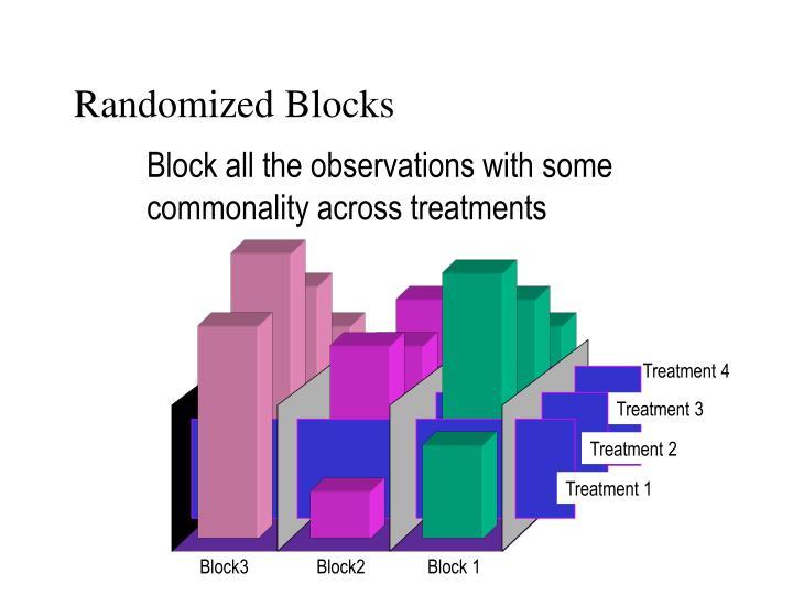 Randomized Blocks