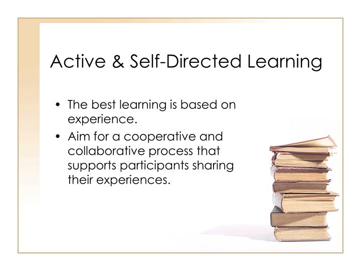 Active & Self-Directed Learning