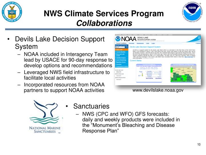 Devils Lake Decision Support System