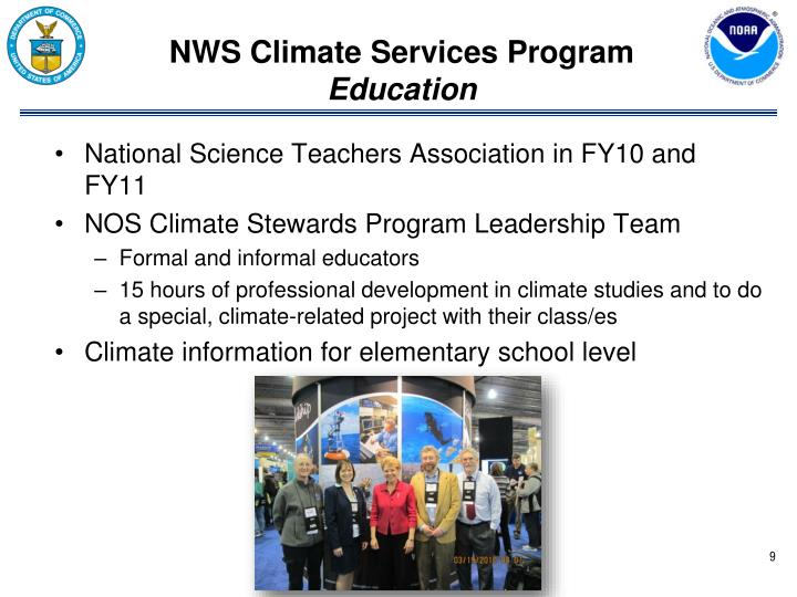 NWS Climate Services Program