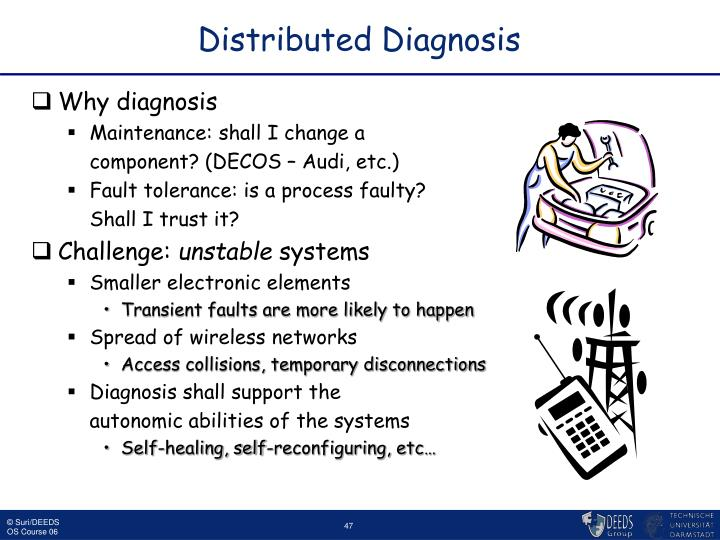 Distributed Diagnosis