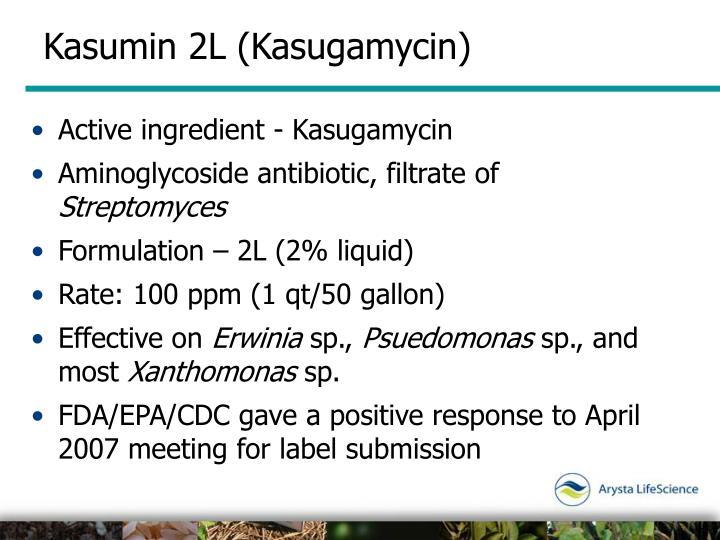 Kasumin 2L (Kasugamycin)