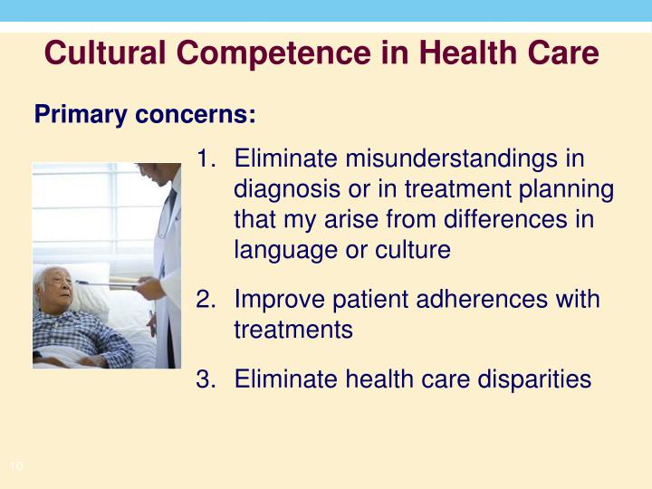 Eliminate misunderstandings in diagnosis or in treatment planning that my arise from differences in language or culture