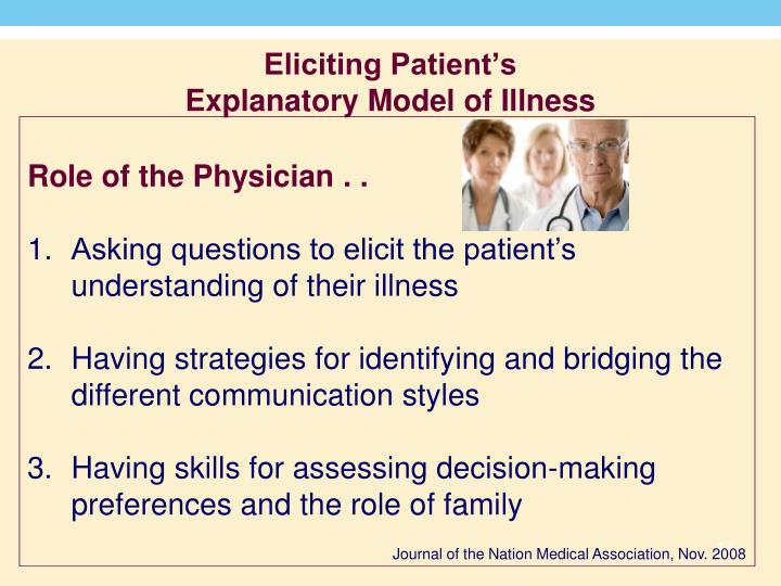 Eliciting Patient's