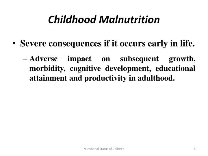 Childhood Malnutrition