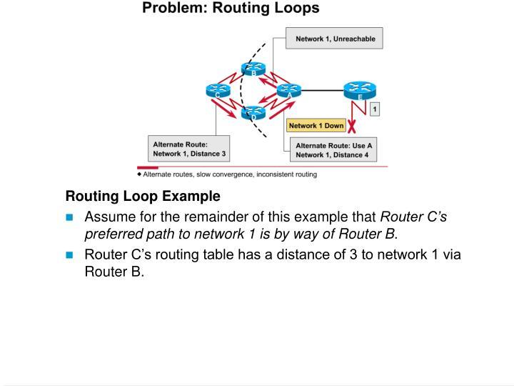 Routing Loop Example