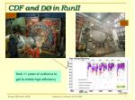 cdf and d in runii