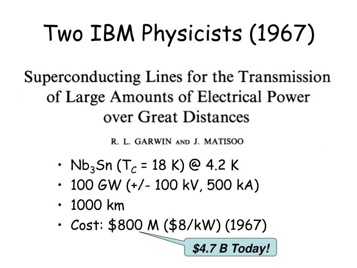 Two IBM Physicists (1967)