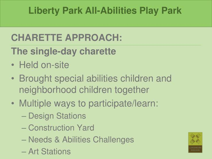 Liberty Park All-Abilities Play Park