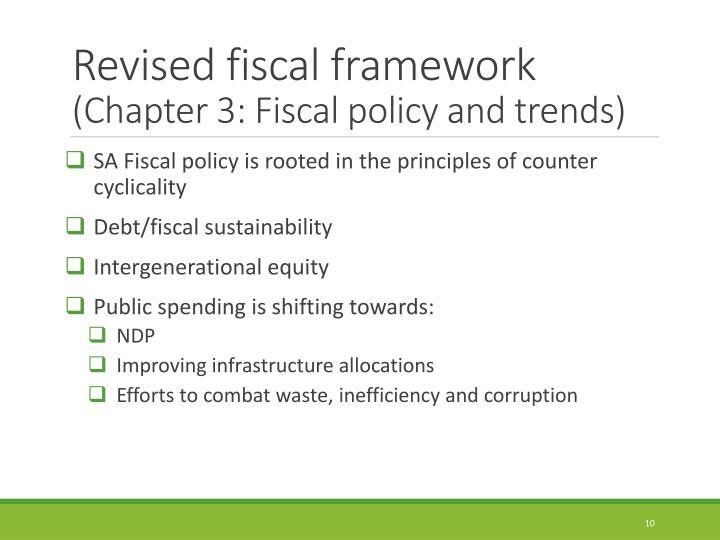 Revised fiscal framework