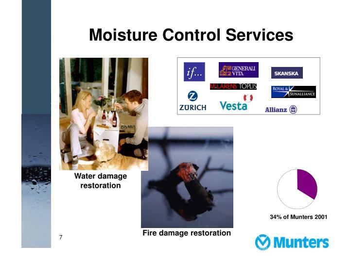 Moisture Control Services