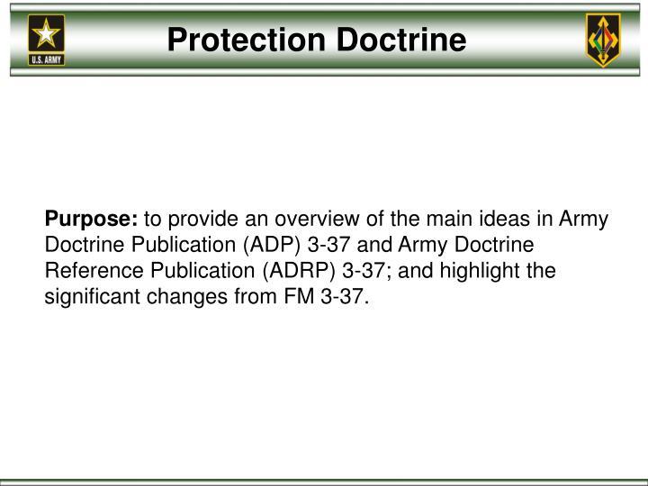 Protection Doctrine