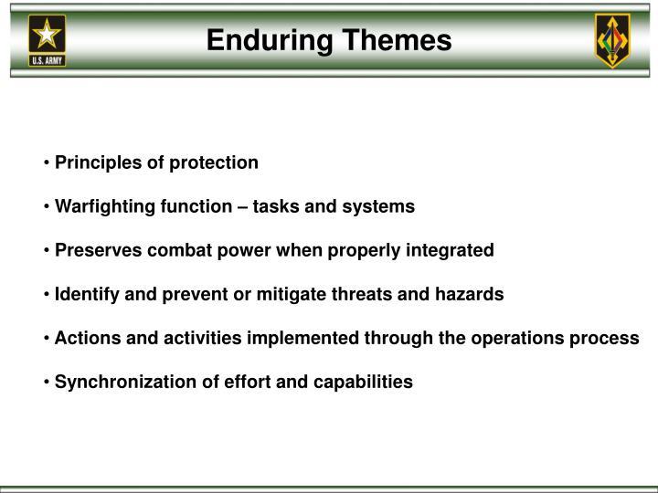 Enduring Themes