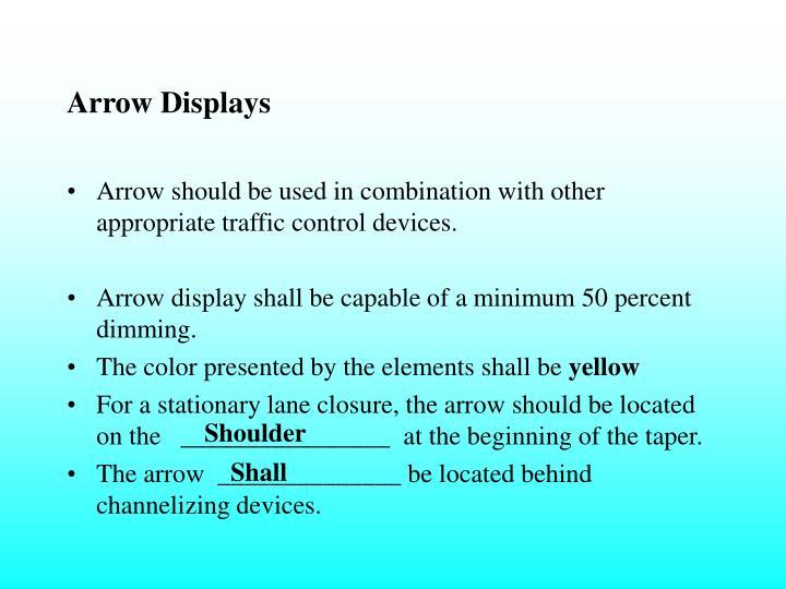 Arrow Displays