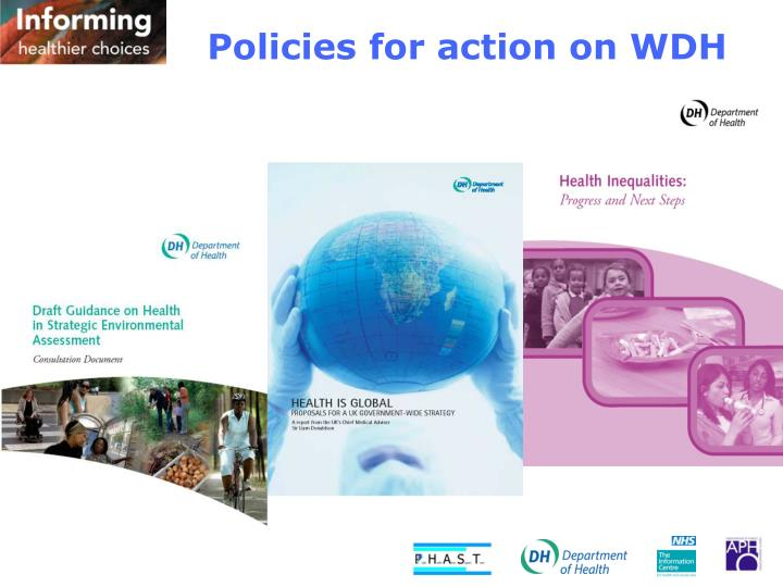 Policies for action on WDH