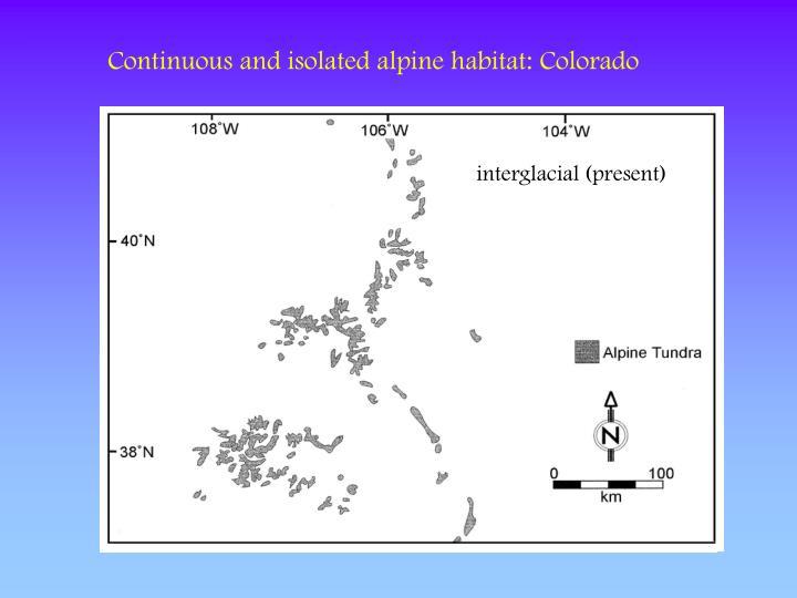 interglacial (present)