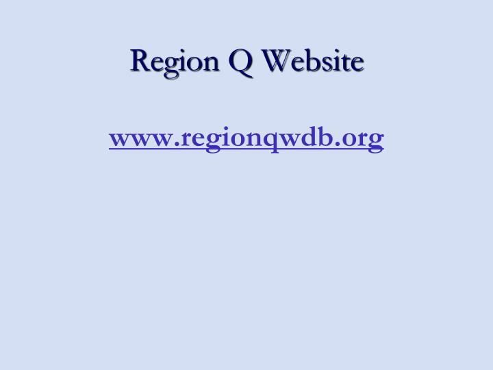 Region Q Website