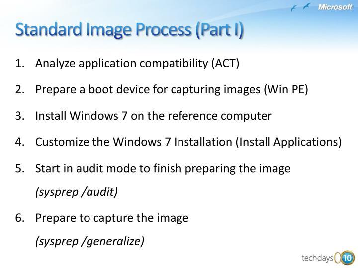 Analyze application