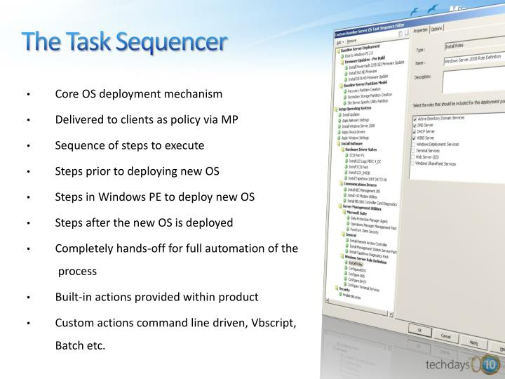 The Task Sequencer