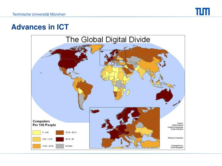Advances in ICT