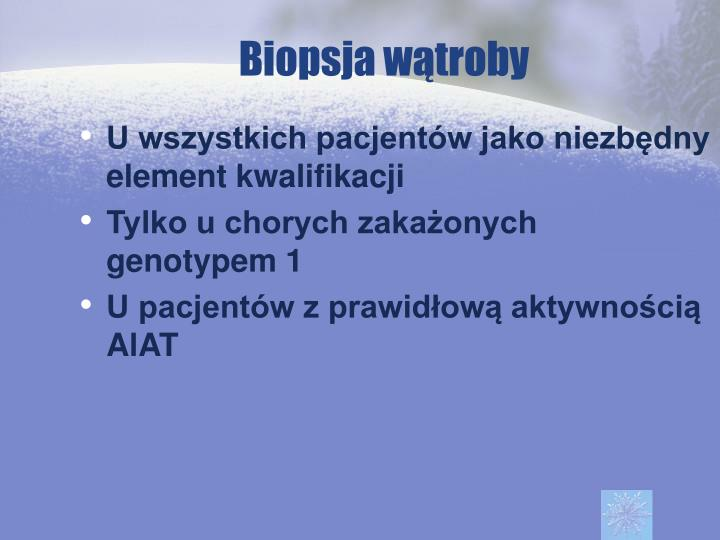 Biopsja wątroby