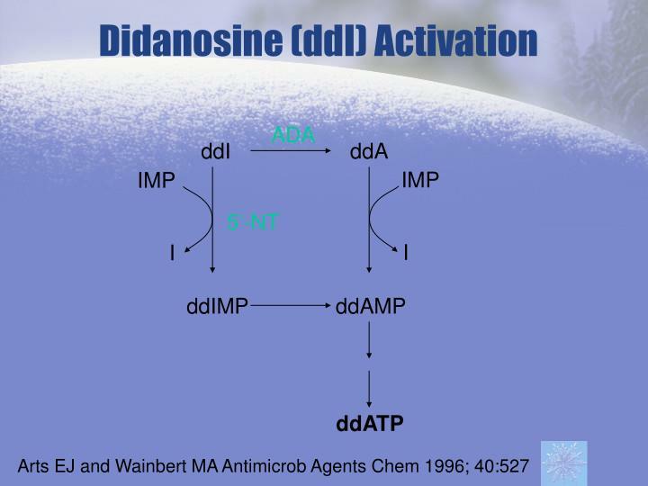 Didanosine (ddI) Activation