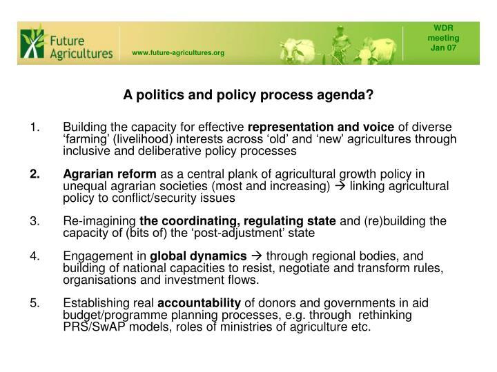 Future Agricultures Consortium