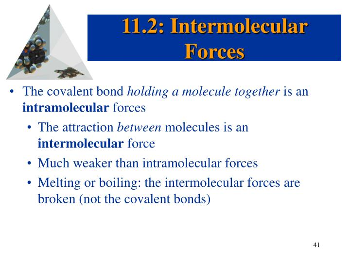 11.2: Intermolecular Forces