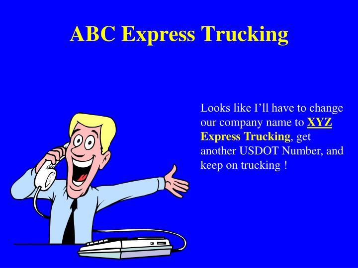 ABC Express Trucking