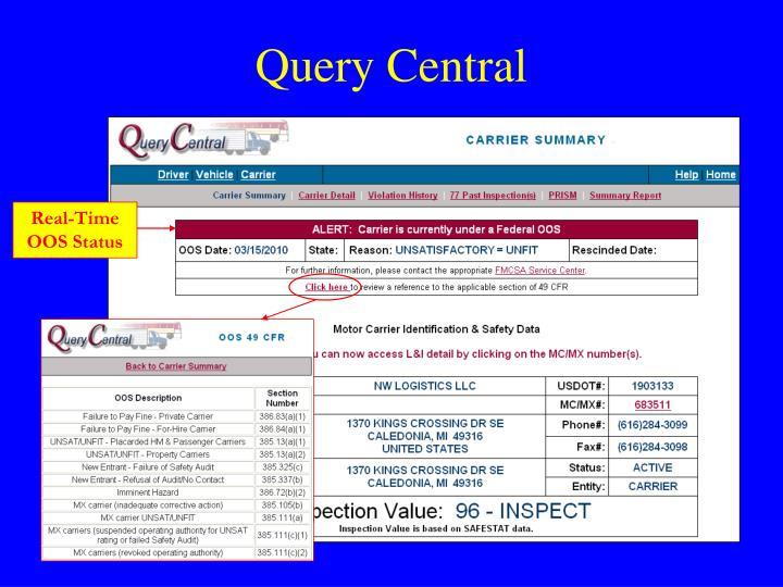 Query Central