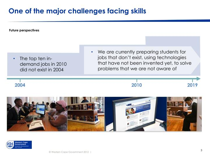 One of the major challenges facing skills
