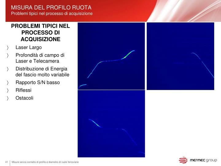MISURA DEL PROFILO RUOTA