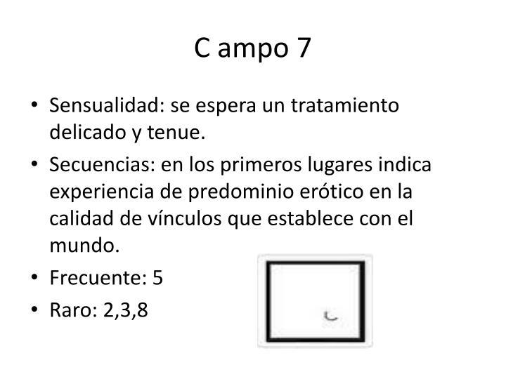 C ampo 7